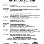 Bergfest 2016 Programmuebersicht auf dem Oberen Berg in Markneukirchen