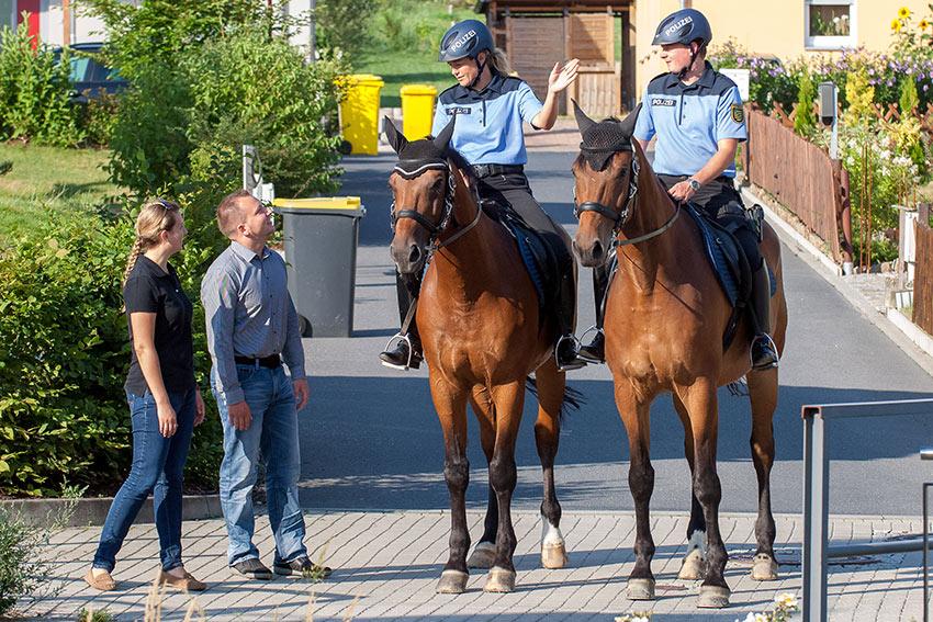 PRÄSIDIUM DER BEREITSCHAFTSPOLIZEI SACHSEN Fachdienst Polizeireiterstaffel