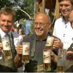 RTL n-tv zu Gast zum 49. Bergfest auf dem Oberen Berg in Markneukirchen